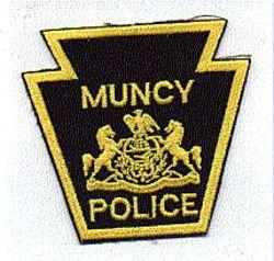 Muncy Police Patch (keystone shape) (PA)