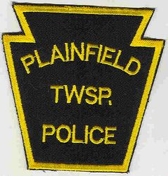 Plainfield Twp. Police Patch (PA)