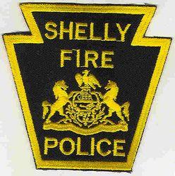 Shelly Fire Police Patch (PA)