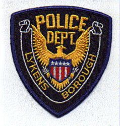 Lykens Borough Police Patch (PA)