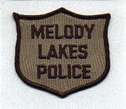Melody Lakes Police Patch (GA)
