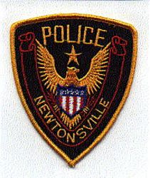 Newtonsville Police Patch (gold edge) (OH)