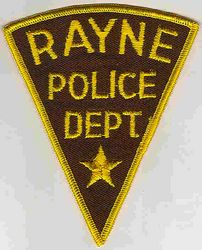 Rayne Police Patch (PA)