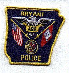 Bryant Police Patch (AR)