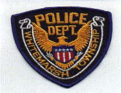 Whitemarsh Twp. Police Patch (blue edge) (PA)