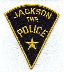 Jackson Twp. Police Patch (black/gold) (PA)