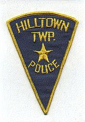 Hilltown Twp. Police Patch (triangular) (PA)