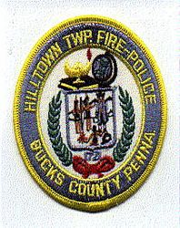 Hilltown Twp. Fire Police Bucks Co. Patch (PA)
