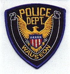 Wauseon Police Patch (blue edge) (OH)