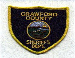 Sheriff: KS, Crawford Co. Sheriffs Dept. Patch (small)