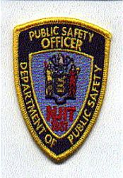 Dept. of Public Safety Officer NJIT Patch (small) (NJ)