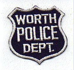 Worth Police Patch (obsolete) (IL)