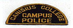 School: NY, Canisius College Campus Police Patch