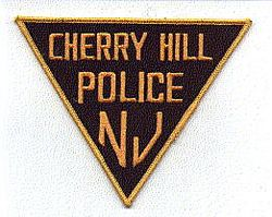 Cherry Hill Police Patch (black/gold) (NJ)