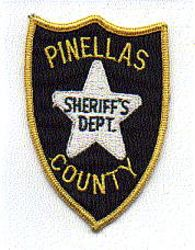 Sheriff: FL, Pinellas Co. Sheriffs Dept.Patch (small)