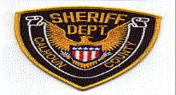 Misc: Calhoun Co. Sheriff Patch (gold edge)