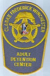 Clarke Frederick Winchester Adult Detention Center Patch (VA)
