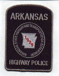 Highway Police Trans. Dept. 1929 Patch (Blue) (AR)