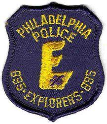 Philadelphia Police Explorers 895 Patch (PA)