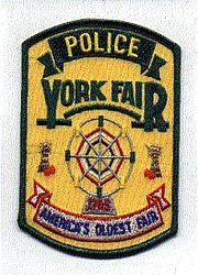 York Fair 1765 Police Patch (PA)