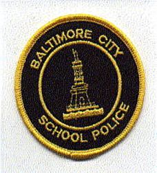 Baltimore City School Police Patch (MD)