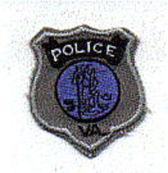 Virginia Police Patch (badge patch) (VA)