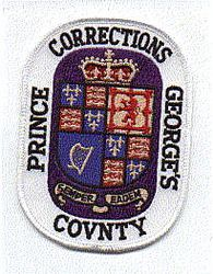 Prince Georges Co. Corrections Patch (MD)