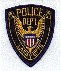 Lafayette Police Patch (IN)