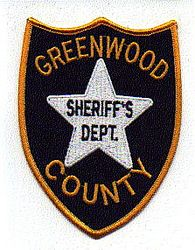 Sheriff: SC. Greenwood Co. Sheriffs Dept. Patch