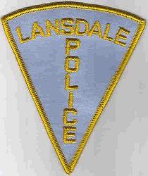Lansdale Police Patch (blue) (PA)