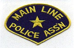 Main Line Police Assn Patch (PA)