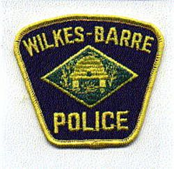 Wilkes-Barre Police Patch (small)(PA)