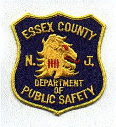 Essex Co. Dept. of Public Safety Patch (facing right) (NJ)