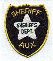 Sheriff: FL, Sheriff Aux. Sheriffs Dept. Patch