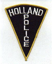 Holland Police Patch (PA)