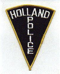 Holland Police Patch (PA)
