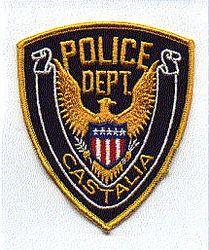 Castalia Police Patch (OH)