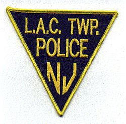 L.A.C. Twp. Police Patch (NJ)