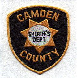 Sheriff: NJ, Camden Co. Sheriffs Dept. Patch (black/gold)