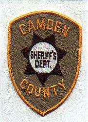 Sheriff: NJ, Camden Co. Sheriffs Dept. Patch (brown/gold)