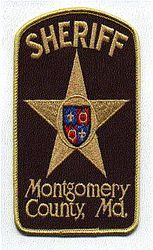 Sheriff: MD, Montgomery Co. Sheriff Patch