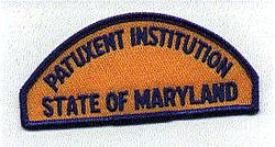 Patuxent Institution Patch (MD)