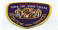 Division of Pretrial Detention and Services Patch (MD)