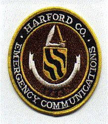 Harford Co. Emergency Communications 1773 Patch (MD)