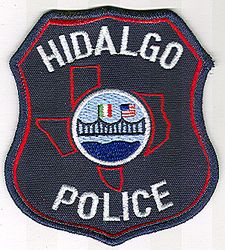 Hidalgo Police Patch (TX)