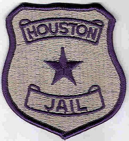 Houston Jail Patch (badge patch) (TX)