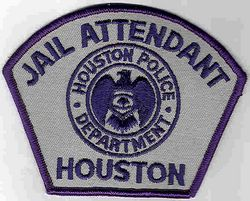 Houston Jail Attendant Patch (TX)