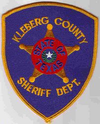 Sheriff: TX. Kleberg Co. Sheriffs Dept. Patch