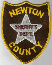 Sheriff: TX. Newton Co. Sheriffs Dept. Patch