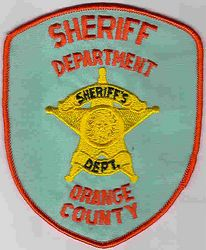 Sheriff: TX. Orange Co. Sheriffs Dept. Patch